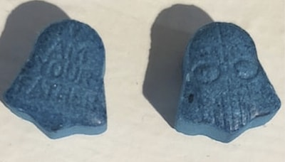 Pill Report: Blue Darth Vader