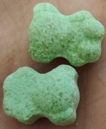 Pill Report: Green Teddy Bear